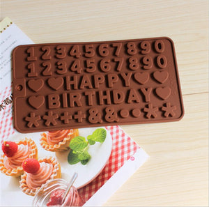 Chocolate Birthday Mold