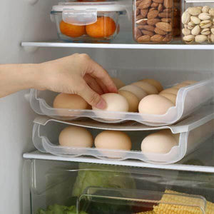 Simple Style-Automatic Scrolling Egg Storage Box
