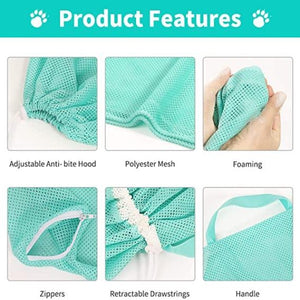 CatShwr™ Multi-function Grooming Bath Bag