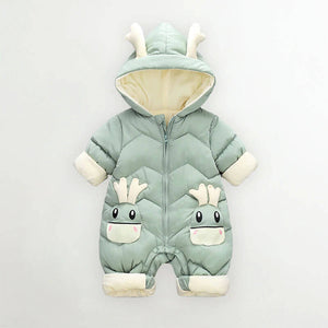 Unisex Breathable and Cosy Baby Jumpsuit -  Sizes Ranging From 6 Months - 3 Years