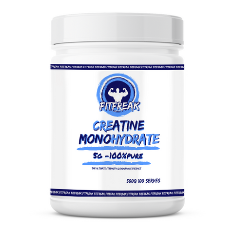 Fitfreak Supplements Creatine Monohydrate 100 Serve