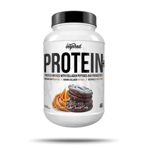 Inspired Nutraceuticals PROTEIN + Collagen and Probiotics
