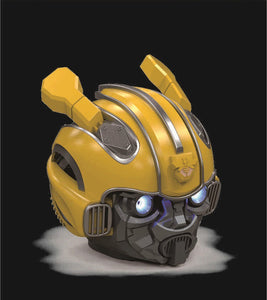 Toys and Hobbies Transformer Bumblebee Wearable Helmet with Bluetooth Speaker