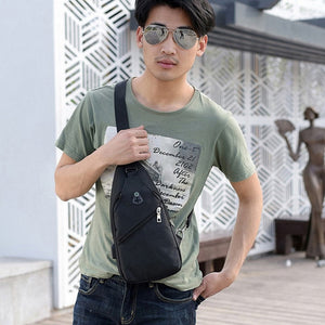 Men clothing & Accessories WENYUJH Men's Chest Bag Phone Pocket Messenger Sports 2020