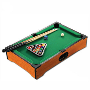 Mother and Kids Mini Tabletop Pool Table Desktop Billiards