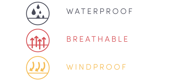 Faire Child Waterproof Breathable Windproof Fabric made with rpet which is a recycled polyester innovation by sympatex.