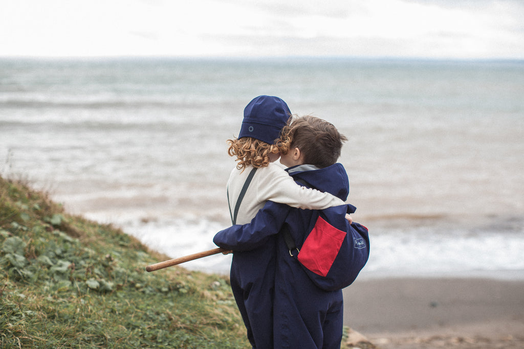 The campaign for Fair Child weatherwear a crowdfunded business venture to create sustainable luxury children's clothing brand.