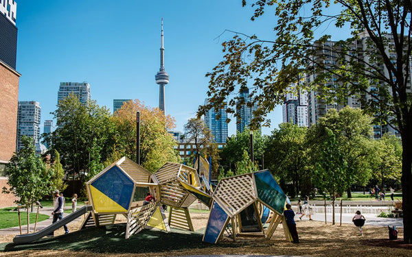 Toronto natural playground Art Gallery of Ontario