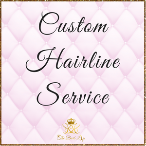 Custom Hairline Service - The Barb Life