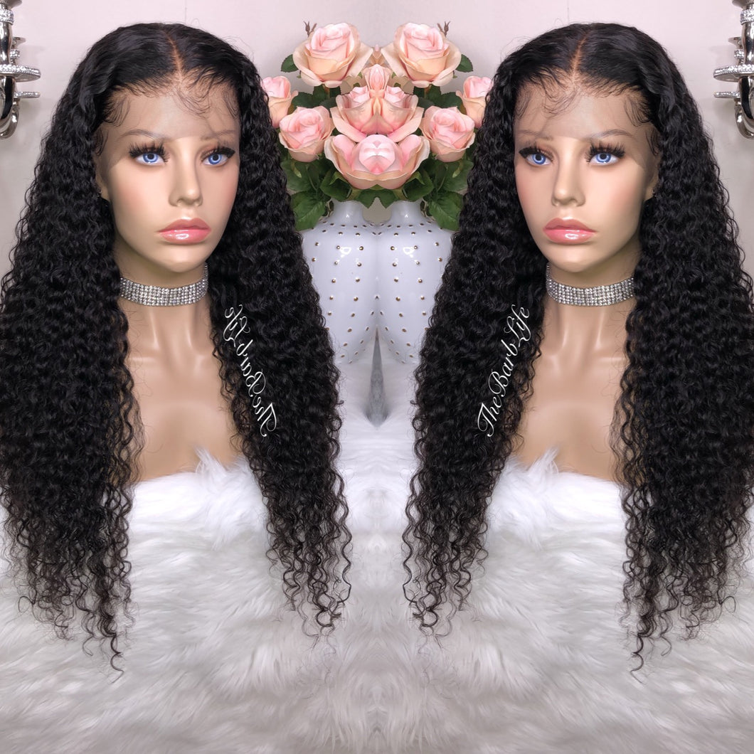 Exotic Wave Custom Lace Frontal Wig - The Barb Life