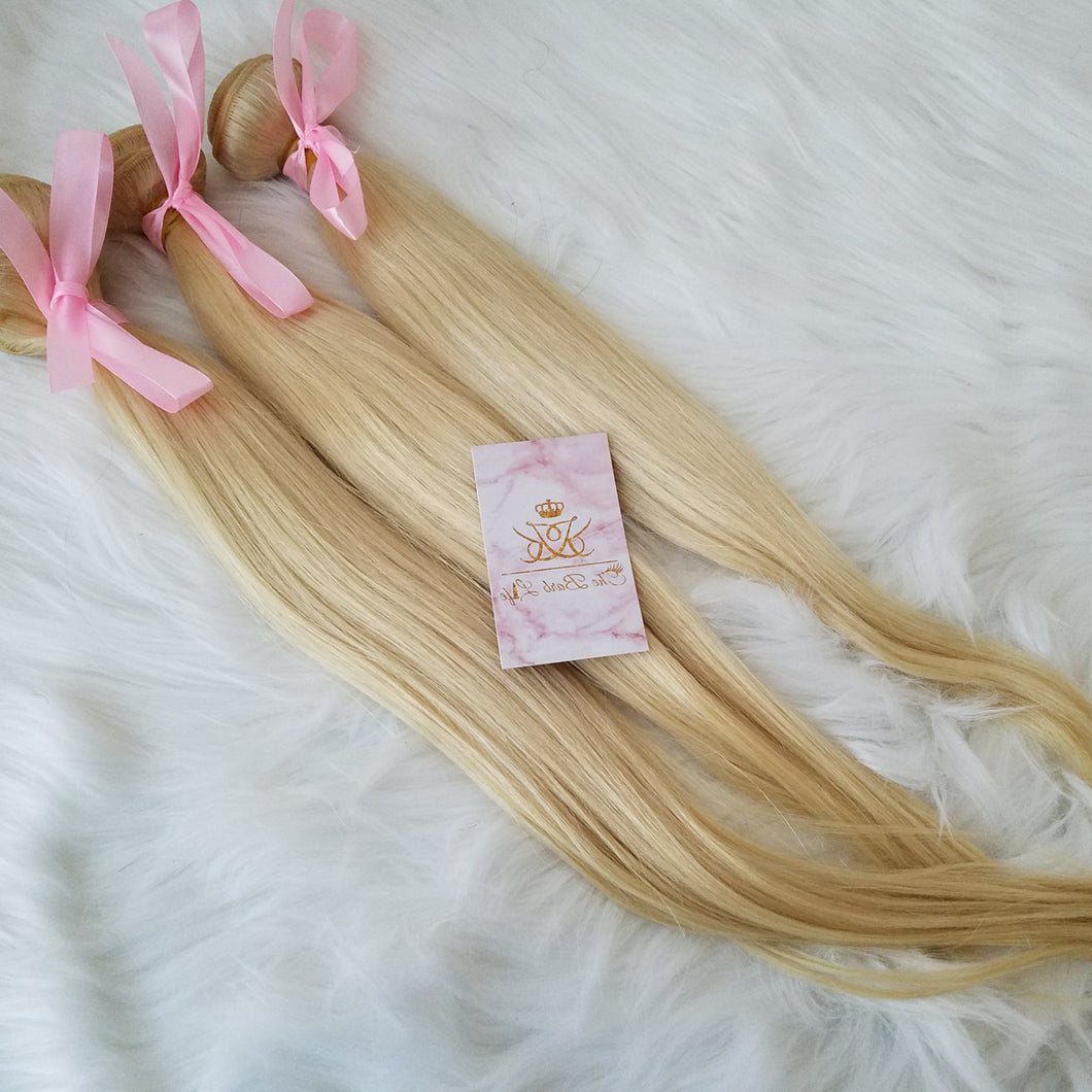 Beach Blonde Vixen Straight Extensions - The Barb Life