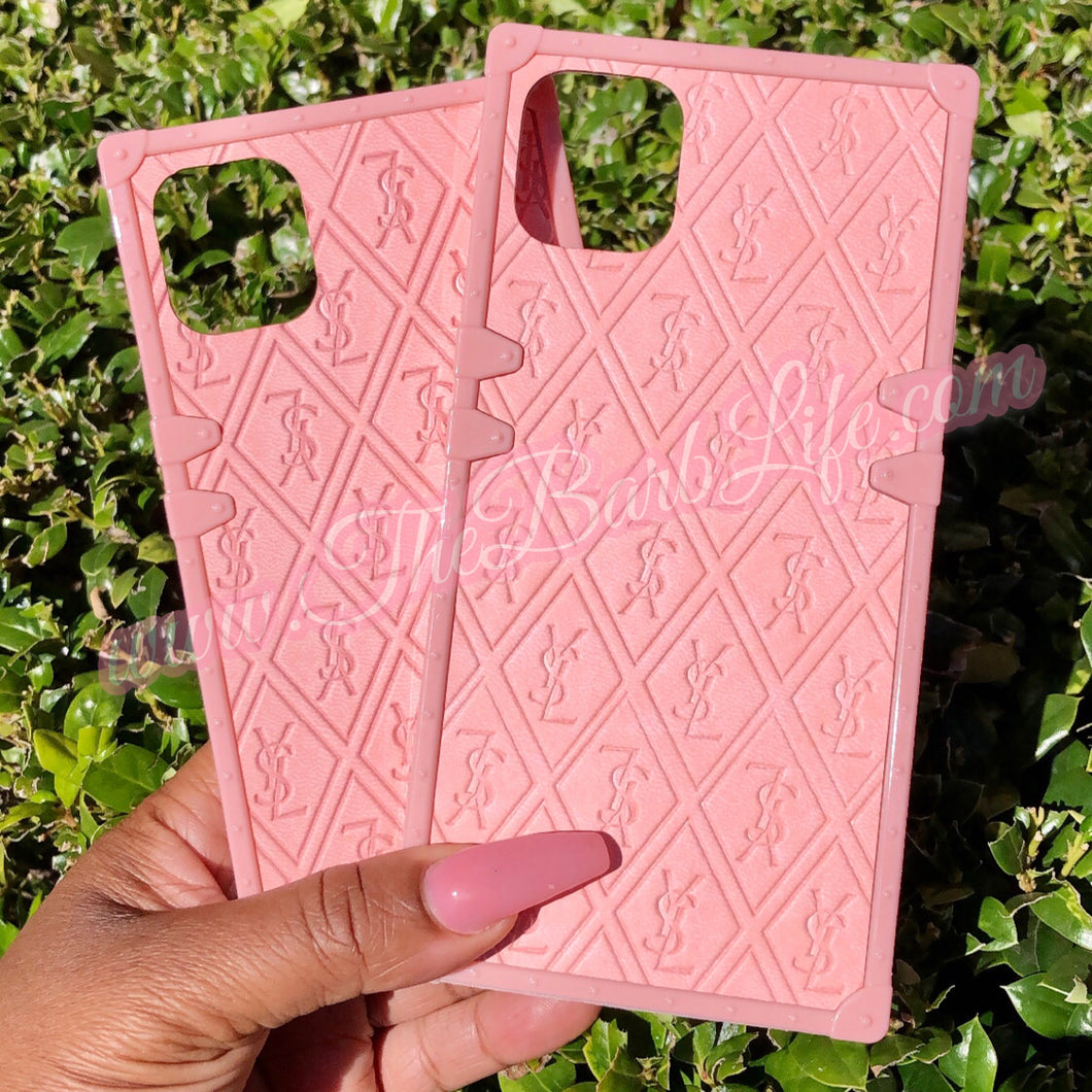 Peachy Trunk Monogram Phone Case
