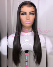 Load image into Gallery viewer, Vixen Straight Custom 6x6 Closure Wigs