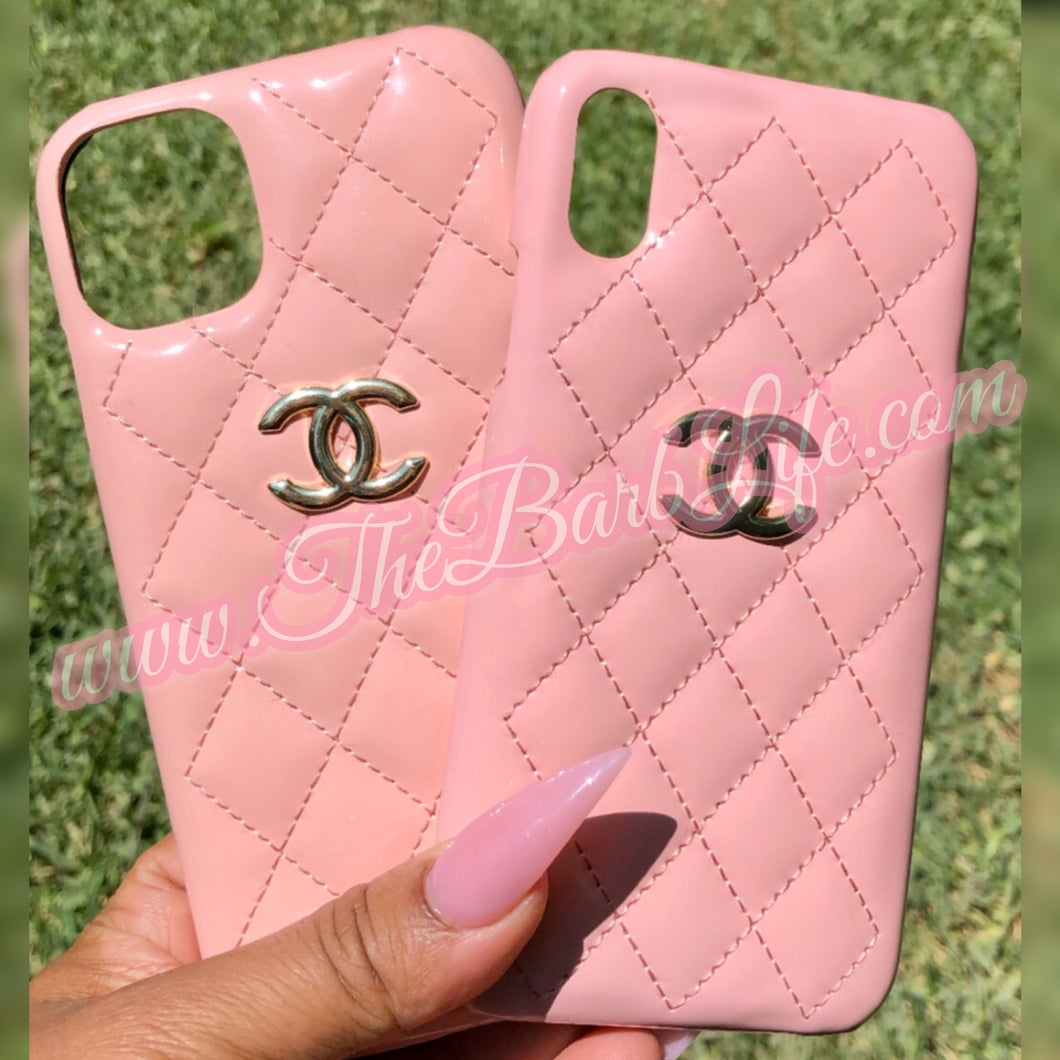 Quilted Pink Phone Case