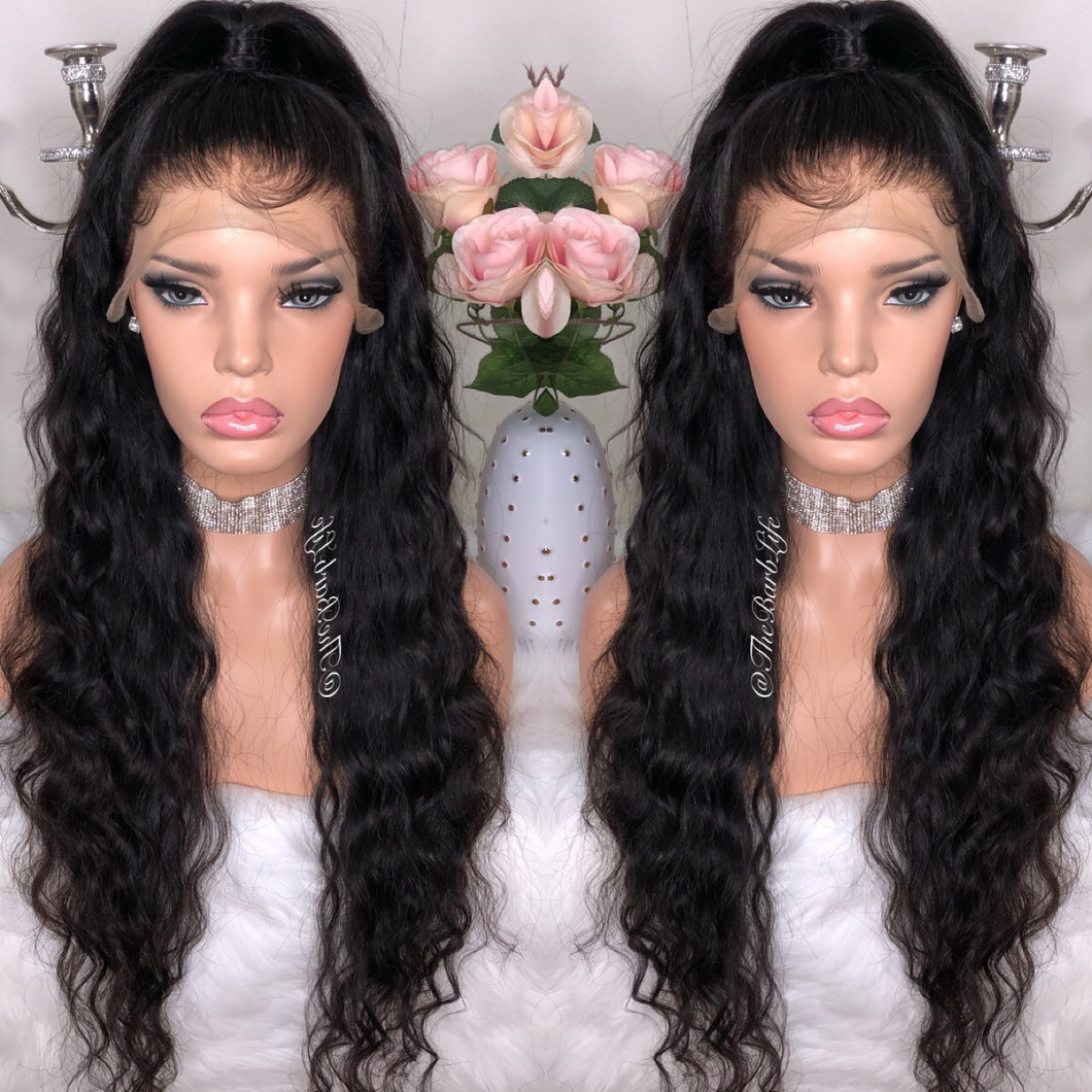 Ocean Wave Custom Lace Frontal Wig