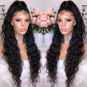 Ocean Wave Custom Lace Frontal Wig - The Barb Life