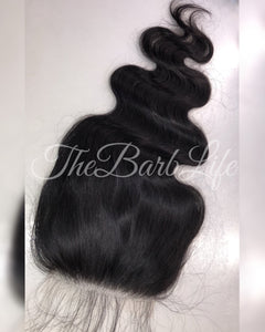 HD Lace (Also known as film lace) 5x5 Body Babe Closure - The Barb Life