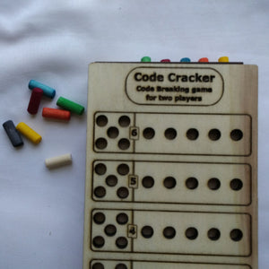 Code Cracker - code breaking game for two players