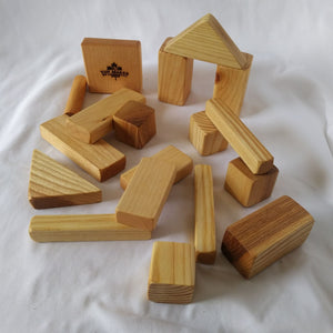 Wooden Building Block Set for Kids
