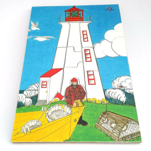 Lighthouse Wooden Jigsaw Puzzle