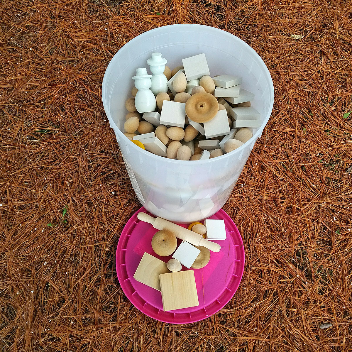 Bucket of Loose Parts