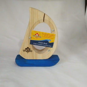Sailboat Coinbank