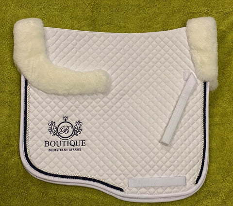 Saddle Pad - White