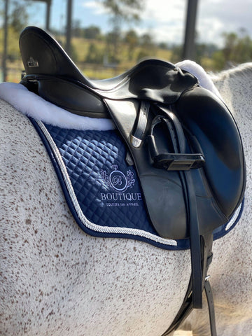 Saddle Pad - Navy