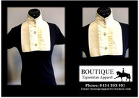 "BEA ""Frill Shirt"" - Available in White & Cream"