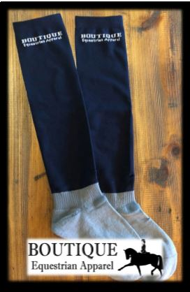 Mens Riding Socks - Black & Navy