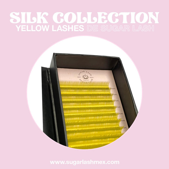 Sugar Lash Silk color collection mix 'Amarillo'