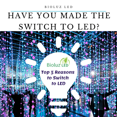 Top 5 Reasons to Switch to LEDs