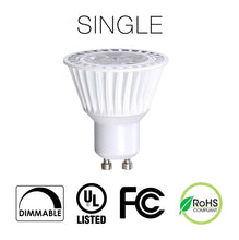 GU10 LED Bulbs Singles