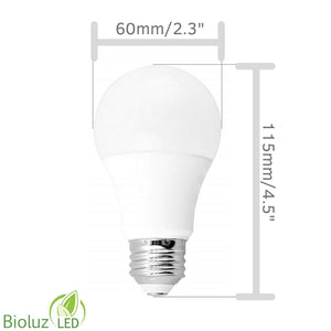 3-Way A19 LED Light Bulb, 500/1000/1500 Lumens