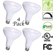 Bioluz LED BR40 LED Bulbs, Up to 120 Watt Replacement, Indoor / Outdoor Dimmable LED Lamp, UL Listed