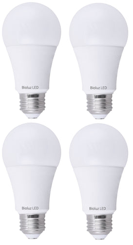 Bioluz LED A21 100W Dimmable LED Light Bulbs 1600 Lumen 3000K