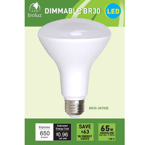 Bioluz LED BR30 LED Flood Light Bulbs