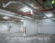 LED Utility Shop Light 5000K Bright White with Pull Chain