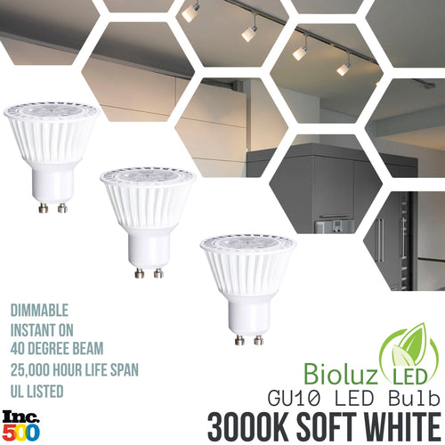 GU10 LED Bulbs - Dimmable