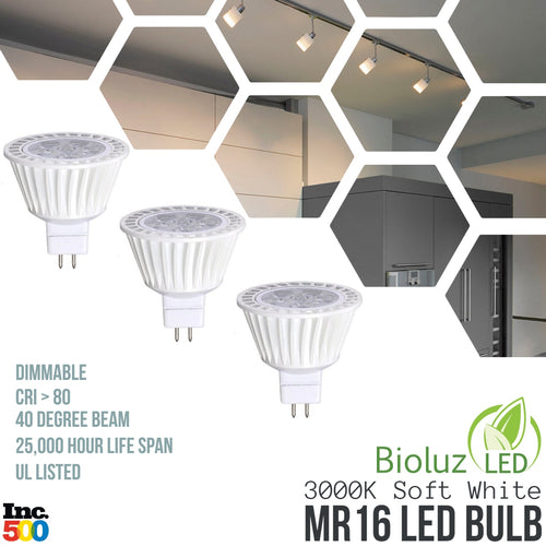 MR16 LED Bulbs - Dimmable