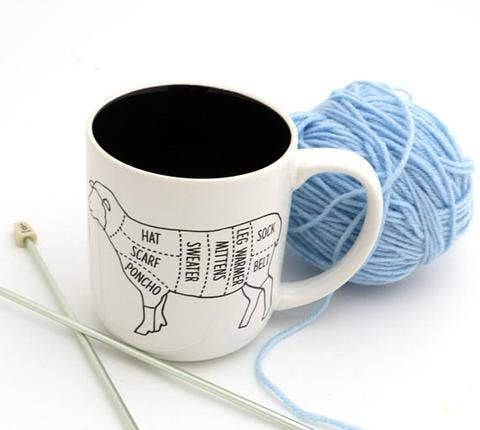 Lenny Mud - Sheep Parts Mug