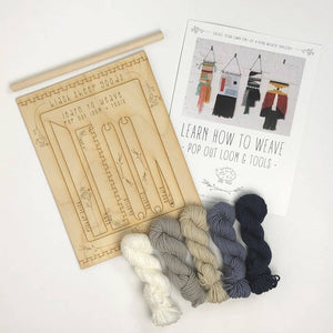 Black Sheep Goods - DIY Tapestry Weaving Kit - Lakeside