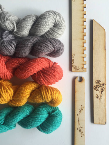 Black Sheep Goods - DIY Tapestry Weaving Kit - Island