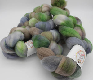 Falkland wool top: Psycho Killer