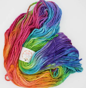 Big Fat Singles Yarn: Tie-dyed Dress
