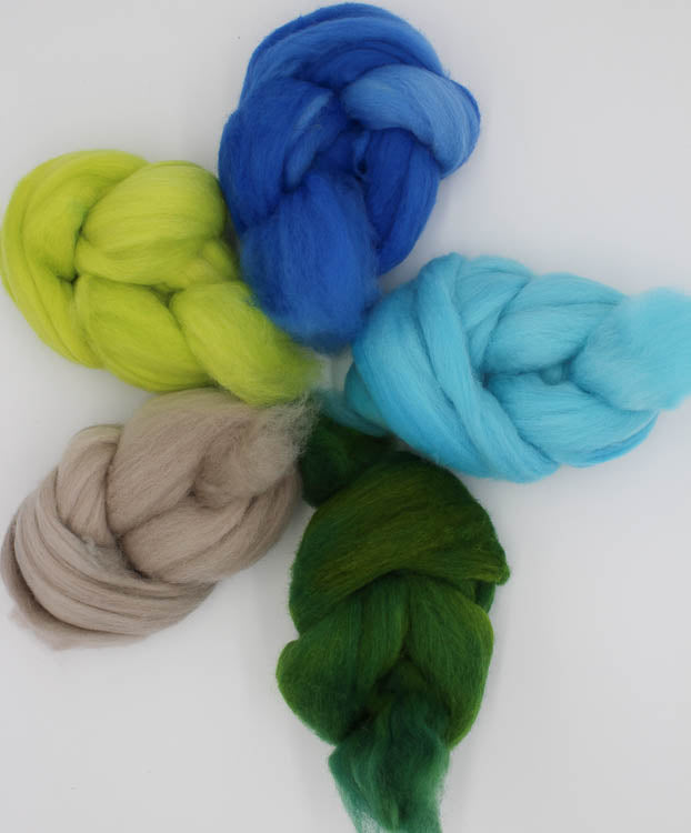 Seaside Merino Solids Pack