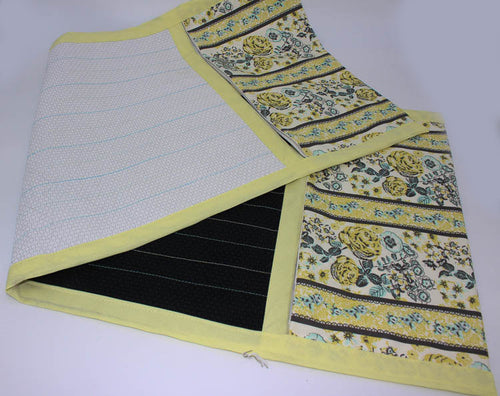 Lap Cloth for Spinning: Yellow