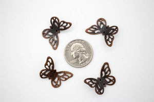 Charms Pack: Filigree Butterflies