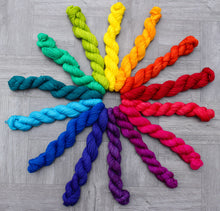 Color Wheel Rainbow Miniskein Set