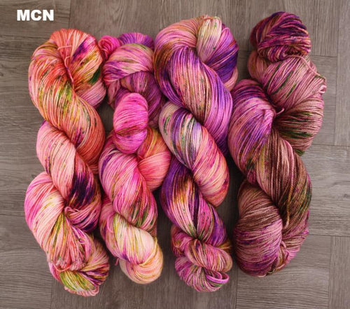 Fingering/Sock Fade Kit: Wild Flowers